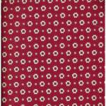 Fiore Colorato Rosso Bice H. 150