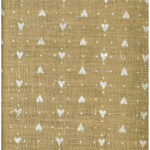 Tela Juta Calcutta Flock h. 150 04334 Col. Bianco