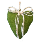 Lana Cotta Cuore Piccolo Verde