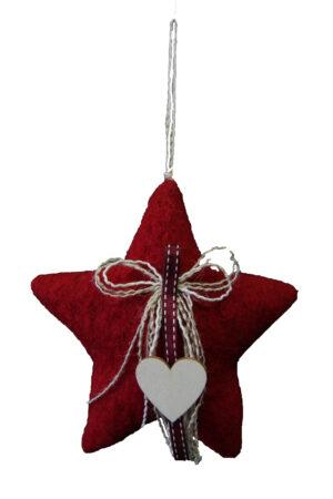 Lana Cotta Stella Rossa Natale