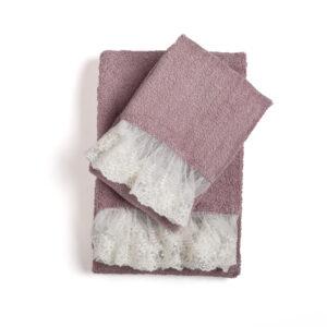 Asciugamani Spugna Bagno Chanel 3