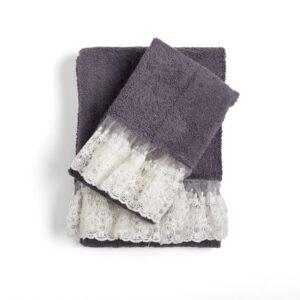Asciugamani Spugna Bagno Chanel 2