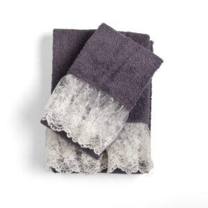 Asciugamani Spugna Bagno Chanel 1