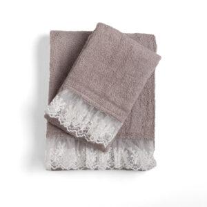 Asciugamani Spugna Bagno Chanel 4