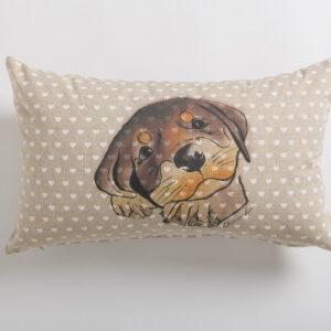 Cuscino arredo animal friends cm. 30×50
