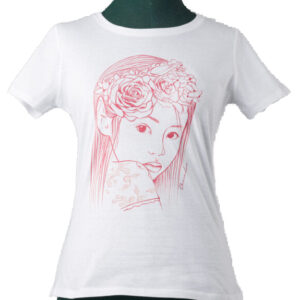 T-Shirt Donna Elfa Rose Rosse