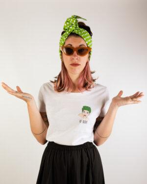"""T-Shirt Donna """"Io Boh"""""""