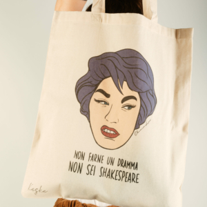 """Shopper Sarcastica """"dramma"""""""