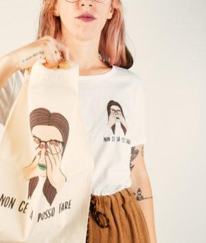 """T-Shirt Donna """"Non ce la posso fare"""""""