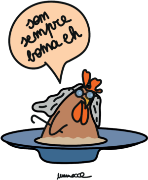 "Tovaglietta Americana ""Gallina"" Salmone"