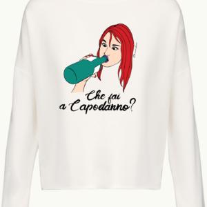 Felpa Oversize Donna Capodanno