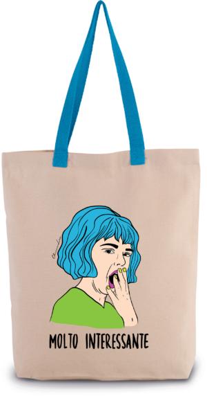"""Shopper manici colorati """"molto interessante"""""""